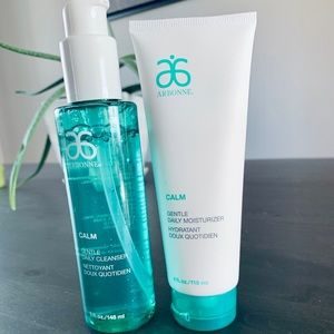 Arbonne Calm cleanser and moisturizer